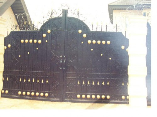 Nigerian gates for fence best image wallpaper for Door design nigeria