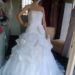 White hot size 12 wedding ball gown