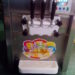 ice cream machine of table top with two chambers and 3 nuzzle..08038731963