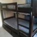 2x Kids Double Bunk Bed With Mattresses