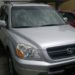 Honda Pilot with complete factory fitted features