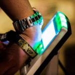 RFID wristbands for cashless payments, access control in events