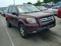 2007 HONDA PILOT FOR SALE AT AUCTION PRICE